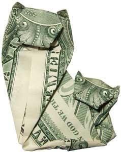 Dollar Artist Sculptures